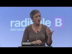 Margrethe Vestager, europapolitisk tale