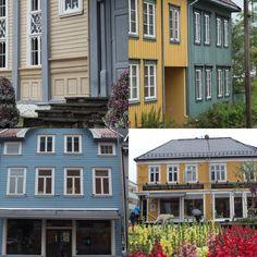 I colori di Tromso, città norvegese che si atteggia a capitale artica