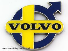 An even more Swedish Volvo badge. Volvo 850, Volvo S60 T5, Volvo Cars, Volvo Trucks, Volvo Amazon, Luxury Bus, Classic Motors, Classic Cars, Cars