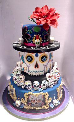 Sara Giustizieri - Mexican Sugar Skulls