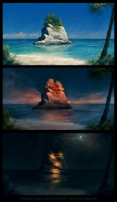 At the Beach II by ~ReneAigner on deviantART