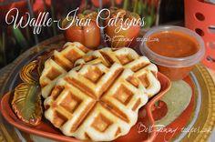 Waffle-Iron Calzones        http://www.bestyummyrecipes.com/waffle-iron-calzones/