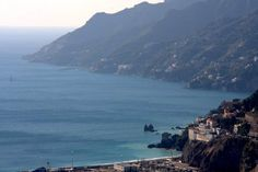 Beautiful Amalfi coast view