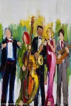 Modern Art Paintings, Abstract Paintings, Images D'art, Jazz Trumpet, Art Gallery, Ouvrages D'art, Galerie D'art, Music Artwork, Artwork Ideas