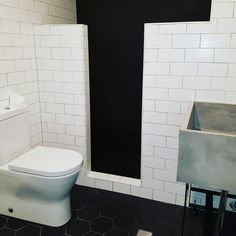 Industrial style bathroom #bathroom #bathroomdesign #homedesign #bathroomreno #bathroomrenovation