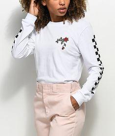 22ad62da De 23 beste bildene for White long sleeve shirt outfit   Fall ...