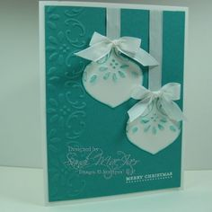 Ornament punch - card