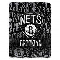 "Brooklyn Nets NBA ""Redux"" Micro Raschel Throw"