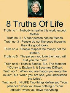 ✍life changing quotes - a 8 truths of life truth no 1 : nobody is Apj Quotes, Life Quotes Pictures, Life Quotes Love, Life Lesson Quotes, Change Quotes, Wisdom Quotes, Motivational Quotes, Quotes On Life Changes, Quotes About Life Lessons