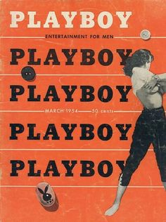 Mar 1954 Playboy vintage magazine cover