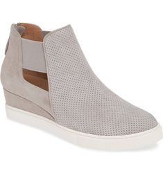 Linea Paolo Amanda Slip-On Wedge Bootie (Women)   Nordstrom Sporty Chic, Wedge Bootie, Anniversary Sale, Amanda, Slip On, Wedges, Booty, Fashion Outfits, Wedge