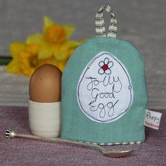 jolly good egg - Easter egg cosy