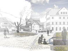 Pit Müller & AG Freiraum (2015): Neugestaltung Ortsmitte, Nordrach (DE), via competitionline.com