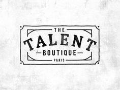Illustration for The Talent Boutique - Paris. Insta : @tmlck www.mlck.fr https://www.facebook.com/MLCK.WRKS