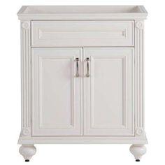 Annakin 30 in. W Bath Vanity Cabinet Only in Cream