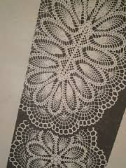 tablecloth oval crochet - Google Search