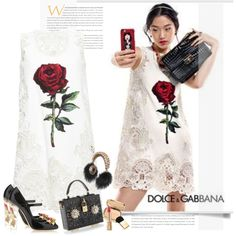 A fashion look from July 2015 by sella103 featuring Dolce&Gabbana