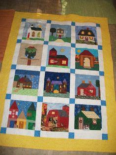 House Quilt by mimiknoxtaylor from the quiltingbaord.com
