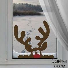 Украшаем дом к новому году. Забавные идеи :)