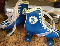 I sold thousands of seed packets for the PTA to win a pair of roller skate boots. Mine were white. I loved them!
