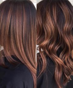 Brown Hair Balayage, Brown Blonde Hair, Balayage Brunette, Hair Color Balayage, Brunette Hair, Hair Highlights, Ombre Hair, Wavy Hair, Long Hair
