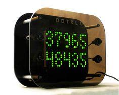 DOTKLOK Is A Hackable, Open-Source, Arduino Clock. Also NeatLooking