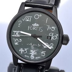 """Fortis """"IQ Watch"""" by Rolf Sachs"""