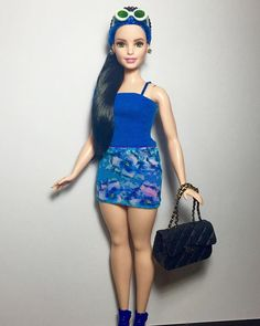 ( love b collection ) - curvy barbie #curvybarbie #barbiedoll #barbie… More