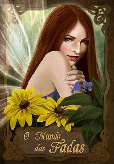 Mais uma linda ilustração de Lua das Fadas da Carolina Mylius! www.linhastortas.com