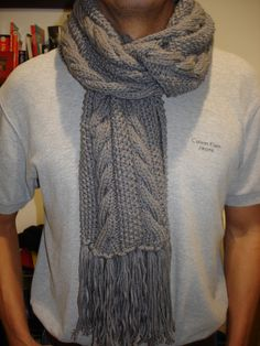 bufandas tejidas con agujas - Buscar con Google