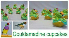 Gouldamadine cupcakes