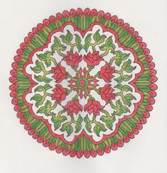 More Mystical Mandalas 015 with pencils