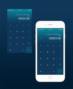 Dailyui 004 Calculator By Allaine Trajico Mobile Ui Design Ux Blog