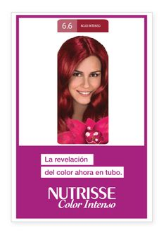 COLOR INTENSO ROJO INTENSO - 6.6 - Vas a encontrar consejos de coloración, salud y belleza para estar siempre radiante.   http://www.garnierargentina.com.ar  https://www.facebook.com/GarnierArgentina