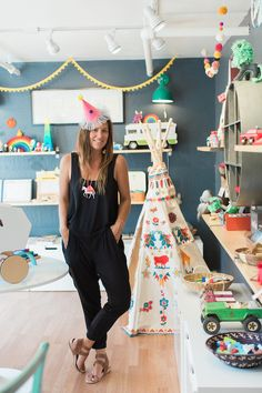 Running a business can be all work and no play—but for Julie Howard, owner of Leo Kids, having fun with whimsical toys is an imperative part of the job. Julie's Santa Cruz, Calif. shop (which neighbors Vanessa Ambrose's store) is teeming with colorful treasures, and her…