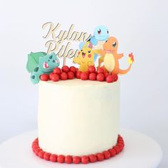 """197 Likes, 27 Comments - Tarryn 🌾 (@iamtarryndonaldson) on Instagram: """"I totally winged the cake this year...Pokemon theme had me stumped from the beginning! Thank…"""""""