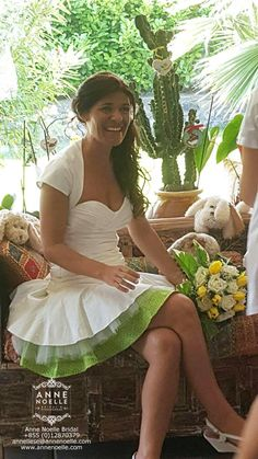 This wedding dress designed by Anne Noelle Bridal and made under ethical condition by Fairsew for a very beautiful bride, Lucia.  #Fairsew #AnneNoelleBridal #EthicalFashion #BeautifulInWhite
