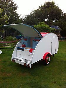 old teardrop trailers | Teardrop Caravan, trailer, retro, vintage, classic, 2 berth, camper ...