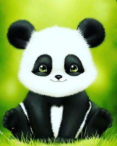 Cute Panda Baby, Panda Love, Cute Baby Animals, Cute Panda Wallpaper, Bear Wallpaper, Panda Wallpapers, Cute Cartoon Wallpapers, Anime Panda, Panda Background