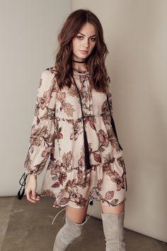$175.00 FOR LOVE & LEMONS SANTA ROSA MINI DRESS