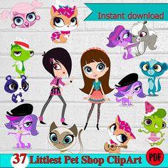 Littlest Pet Shop ClipArt-Printable.Littlest Pet Shop ClipArt.