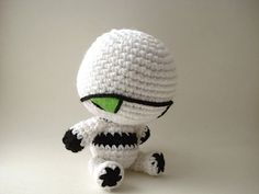 Marvin The Paranoid Android OoAK Robot by MoonsCreations