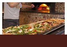 Metre long pizzas - 4 toppings. http://www.sartori-restaurant.com