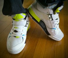 Yesterday Kicks for summer time Air Jordan Flight 45 (2009) by @Saadstuff #airjordan #sneakerholics @sneakerpedia #todayskicks