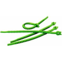 UT Wire Q Knot Outdoor Soft Garden Cable and Vine Plant Ties 20-Count, Multicolor
