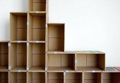 marvellous diy cardboard furniture easy cardboard furniture ideas open shelves storage ideas how to make a cardboard furniture