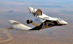 2014年に開始、無重力を体験できる宇宙旅行サービスで使われる宇宙旅客機「スペースシップツー (SS2)」を改造したもの