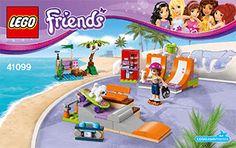 Heartlake Skate Park 41099 - LEGO Friends - Building Instructions - LEGO.com