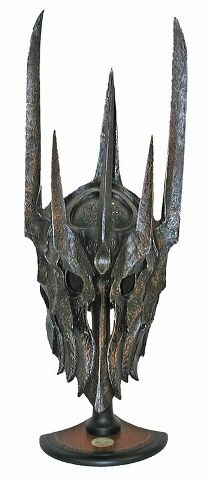 Sauron helmet. I want one