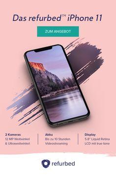 Liebe auf den ersten Blick: Das iPhone 11 - Das Flaggschiff von Apple. Hol' dir jetzt den absoluten Bestseller zum besten Preis auf refurbed.
